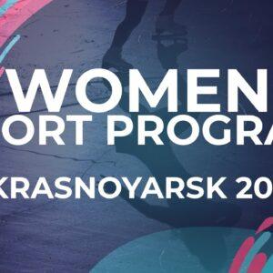 Dani LOONSTRA NED   Women Short Program   Krasnoyarsk - 2021 #JGPFigure
