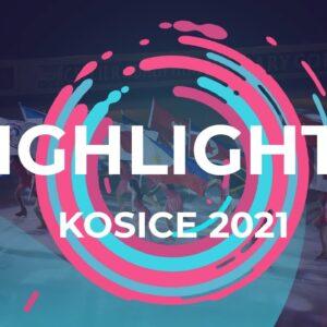 Day 1 Highlights | Kosice | #JGPFigure