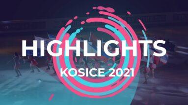 Day 3 Highlights | Kosice | #JGPFigure