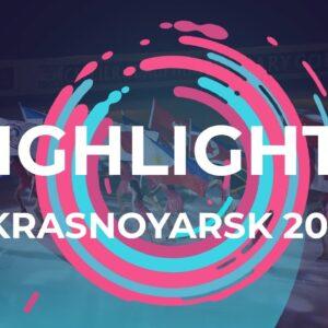 Day 3 Highlights | Krasnoyarsk | #JGPFigure