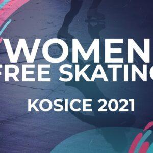 Josefin Brovall SWE | WOMEN FREE SKATE PROGRAM | Kosice Week 3 – 2021 #JGPFigure