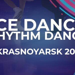 Celina FRADJI / Jean-Hans FOURNEAUX FRA | ICE DANCE RHYTHM DANCE | Krasnoyarsk Week 4 #JGPFigure