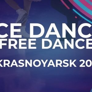 Sofiia KACHUSHKINA / Oleg MURATOV RUS | ICE DANCE FREE DANCE | Ljubljana Week 5 #JGPFigure