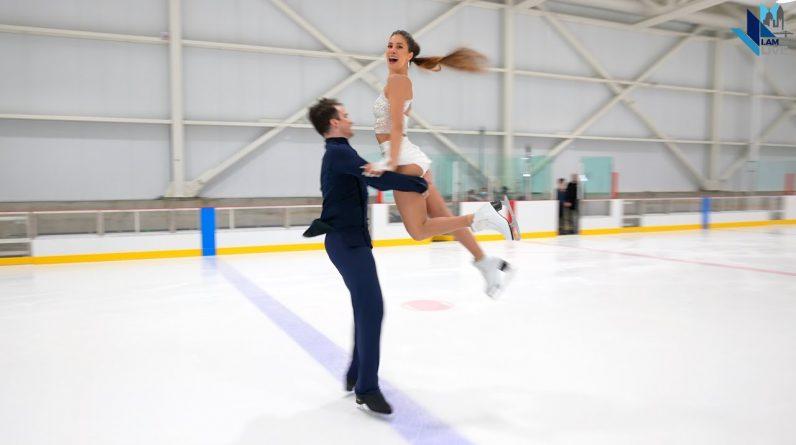 @Aretha Franklin & Armenian Ice Dancers Tina Garabedian, Simon Proulx Sénécal - 2021 Rhythm Dance