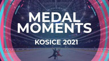 Ice Dance Victory Ceremony | Kosice Week 3 – 2021 #JGPFigure