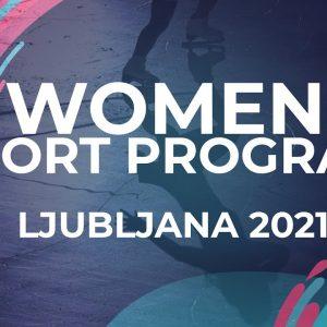Julija LOVRENCIC SLO | WOMEN SHORT PROGRAM | Ljubljana Week 5 #JGPFigure