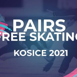 Oxana Vouillamoz / Flavien Giniaux FRA | PAIR FREE SKATE | Kosice Week 3 – 2021 #JGPFigure
