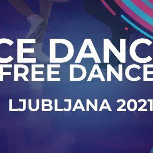 Reka LEVELES / Balazs LEVELES HUN | ICE DANCE FREE DANCE | Ljubljana Week 5 #JGPFigure