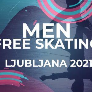 LIVE 🔴 | Men  Free Skating | Ljubljana  - 2021 #JGPFigure