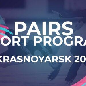 LIVE 🔴 | Pairs  Short Program | Krasnoyarsk - 2021