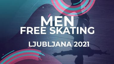 Lukas VACLAVIK SVK | MEN FREE SKATE | Ljubljana Week 5 #JGPFigure