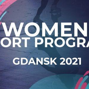 Maria MANOVA BUL | WOMEN SHORT PROGRAM | Gdansk 2021 #JGPFigure