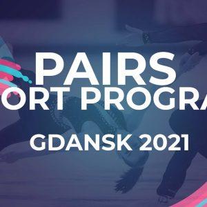 Polina KOSTIUKOVICH / Aleksei BRIUKHANOV RUS | PAIRS SHORT PROGRAM | Gdansk 2021 #JGPFigure