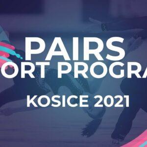 Oxana Vouillamoz / Flavien Giniaux FRA | PAIR SHORT PROGRAM | Kosice Week 3 – 2021 #JGPFigure