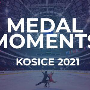 Pairs Medal Ceremony | Kosice Week 3 – 2021 #JGPFigure