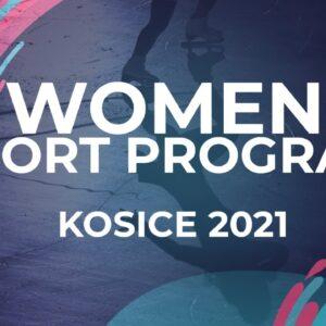 Nargiz Sueleymonova GER | WOMEN SHORT PROGRAM | Kosice Week 3 – 2021 #JGPFigure