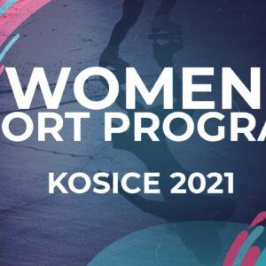 Vanesa Selmekova SVK    WOMEN SHORT PROGRAM   Kosice Week 3 – 2021 #JGPFigure