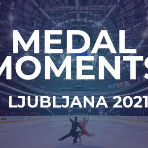 Victory Ceremony | Ice Dance | Ljubljana #JGPFigure