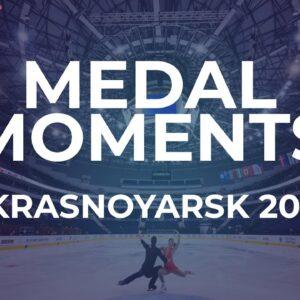 Victory Ceremony | Women | Week 4 Krasnoyarsk #JGPFigure