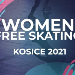 Vivien Papp HUN | WOMEN FREE SKATE PROGRAM | Kosice Week 3 – 2021 #JGPFigure