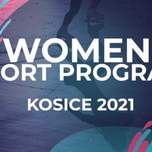 Vivien Papp HUN |  WOMEN SHORT PROGRAM | Kosice Week 3 – 2021 #JGPFigure