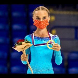 Winner interview Veronika Zhilina RUS |  Kosice Week 3 – 2021 | #JGPFigure