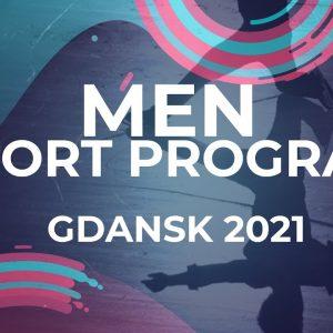 Yauhenii PUZANAU BLR | MEN SHORT PROGRAM | Gdansk 2021 #JGPFigure