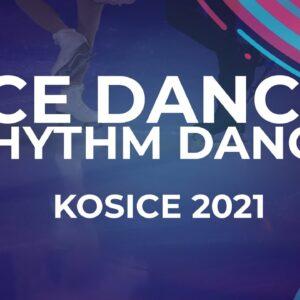 Mariia Pinchuk / Mykyta Pogorielov UKR | ICE DANCE RHYTHM DANCE | Kosice Week 3 – 2021 #JGPFigure