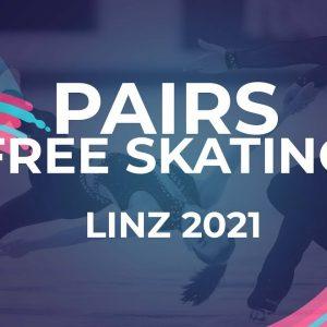 Natalia KHABIBULLINA / Ilya KNYAZHUK RUS | PAIRS FREE SKATING | Linz 2021 #JGPFigure