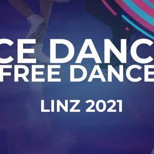 Solene MAZINGUE / Marko Jevgeni GAIDAJENKO EST | ICE DANCE FREE DANCE | Linz 2021 #JGPFigure