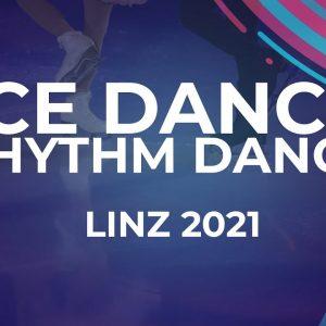 Yulia LEBEDEVA-BITADZE / Dmitri PARKHOMENKO GEO   ICE DANCE RHYTHM DANCE   Linz 2021 #JGPFigure