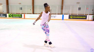 Amaiyah Oyedeji skates to 'Rise Up' by @Andra Day