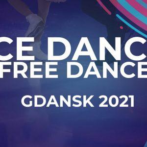 Irina KHAVRONINA / Dario CIRISANO RUS | ICE DANCE FREE DANCE | Gdansk 2021 #JGPFigure