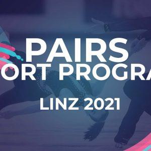 Cate FLEMING / Chase FINSTER USA | PAIRS SHORT PROGRAM | Linz 2021 #JGPFigure