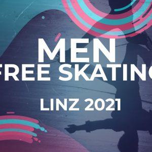 Damian MALCZYK CZE   MEN FREE SKATING   Linz 2021 #JGPFigure