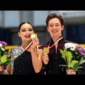 Winner Interview | Irina KHAVRONINA / Dario CIRISANO (RUS) | ICE DANCE | Gdansk 2021 | #JGPFigure