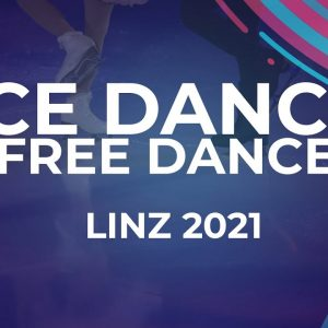 Anita STRAUB / Andreas STRAUB AUT | ICE DANCE FREE DANCE | Linz 2021 #JGPFigure