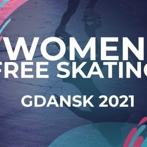 Jia SHIN KOR   WOMEN FREE SKATING   Gdansk 2021 #JGPFigure