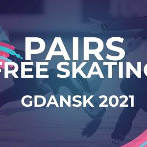 Polina KOSTIUKOVICH / Aleksei BRIUKHANOV RUS   PAIRS FREE SKATING   Gdansk 2021 #JGPFigure