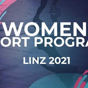 Mariia SENIUK ISR | WOMEN SHORT PROGRAM | Linz 2021 #JGPFigure