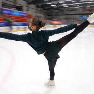 Sway - Annika CHAO skating to @The Pussycat Dolls, 2021-22 US Novice Ladies Short Program