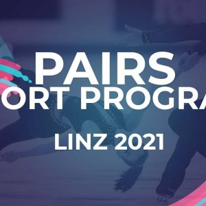 Violetta SIEROVA / Ivan KHOBTA UKR | PAIRS SHORT PROGRAM | Linz 2021 #JGPFigure