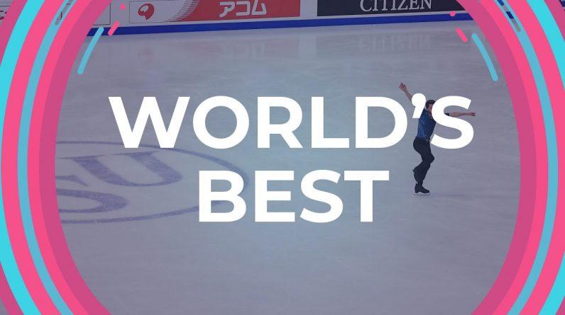 Showcase of world's best Skaters at #GPFigure