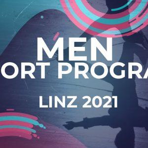 Sinali SANGO RSA | MEN SHORT PROGRAM | Linz 2021 #JGPFigure