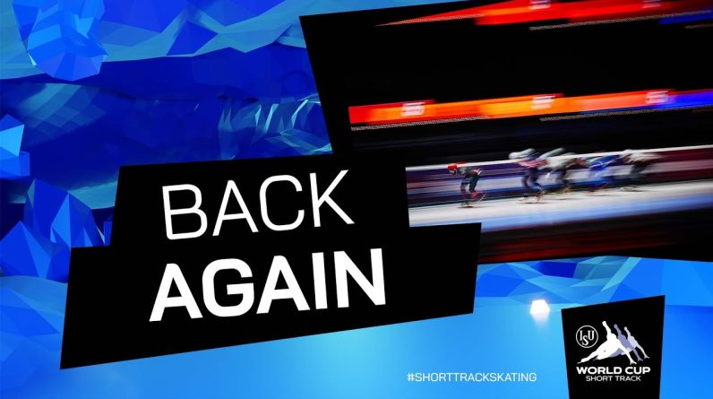 The ISU World Cup Short Track is back again | #ShortTrackSkating