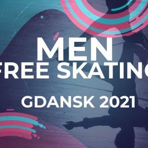 Vasil BARAKHOUSKI BLR   MEN FREE SKATING   Gdansk 2021 #JGPFigure