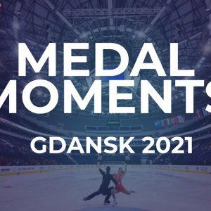 Victory Ceremony | MEN FREE SKATING | Gdansk 2021 #JGPFigure
