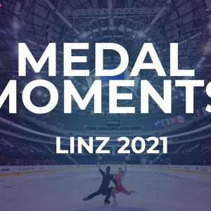 Victory Ceremony Pairs | Linz 2021 #JGPFigure